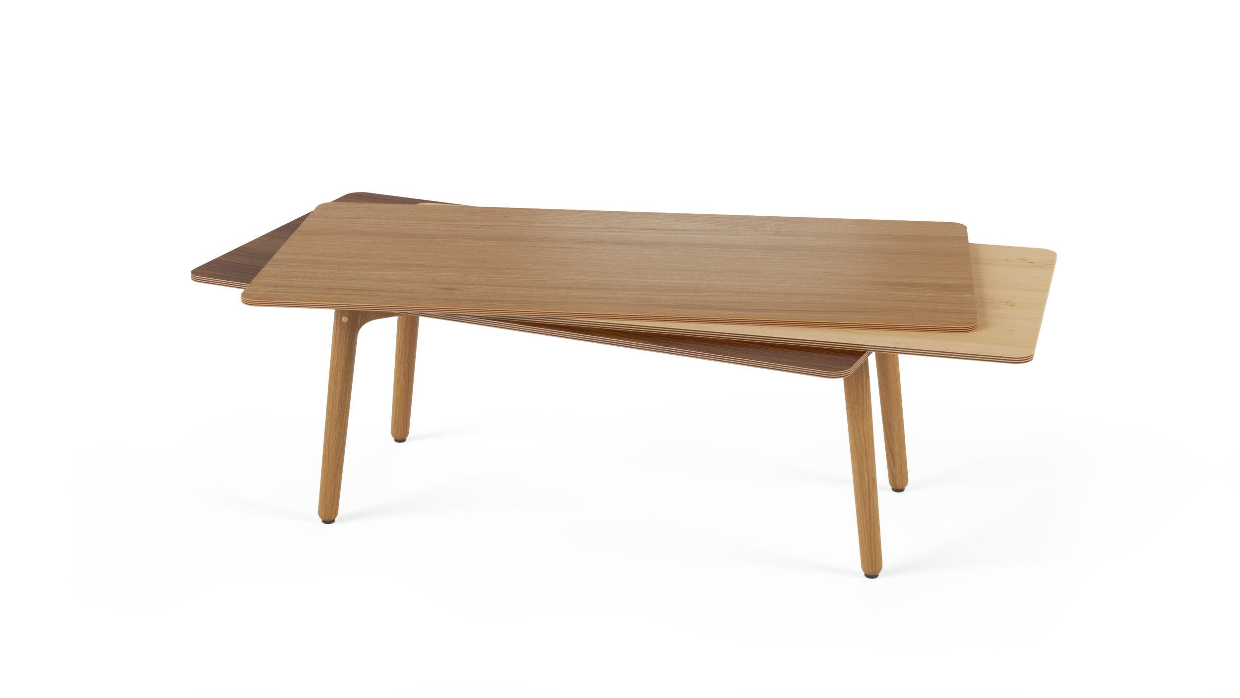 Stacked Coffee Table (Wood) - Oak, Maple, Walnut.jpg