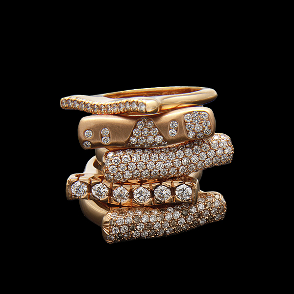 FRIDA | Strata™ Collection. Stacking Rings.