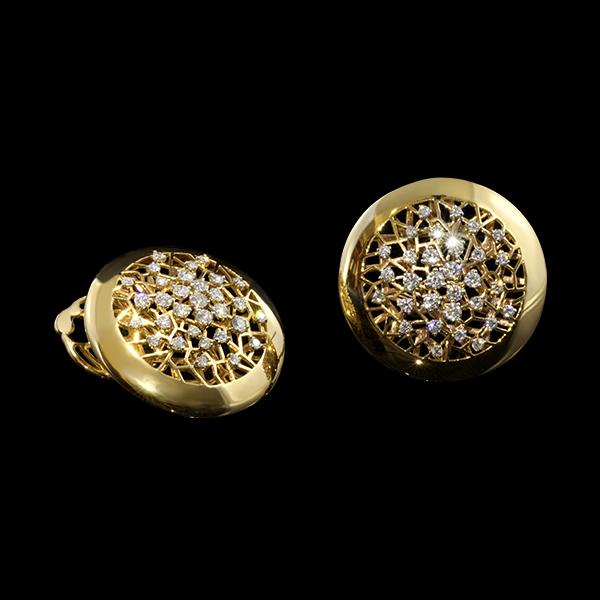 FRIDA | Fine Jewellery. Diamond Earrings.
