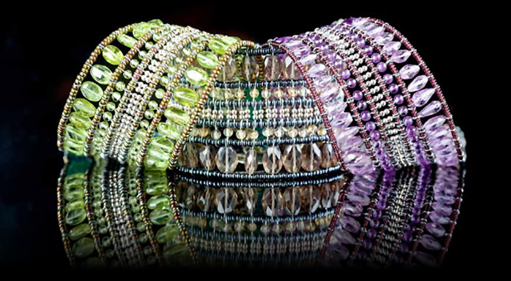 FRIDA. Featured Designer. Ziio. Multi-coloured gemstone bracelets.jpg
