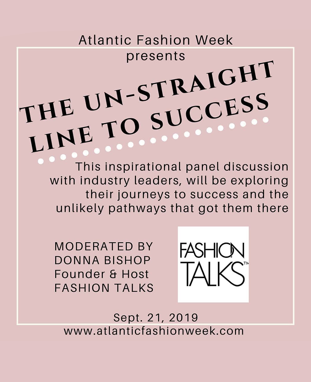 Atlantic Fashion Week Panel Discussion. Featuring FRIDA owner, Carrie Lamb.