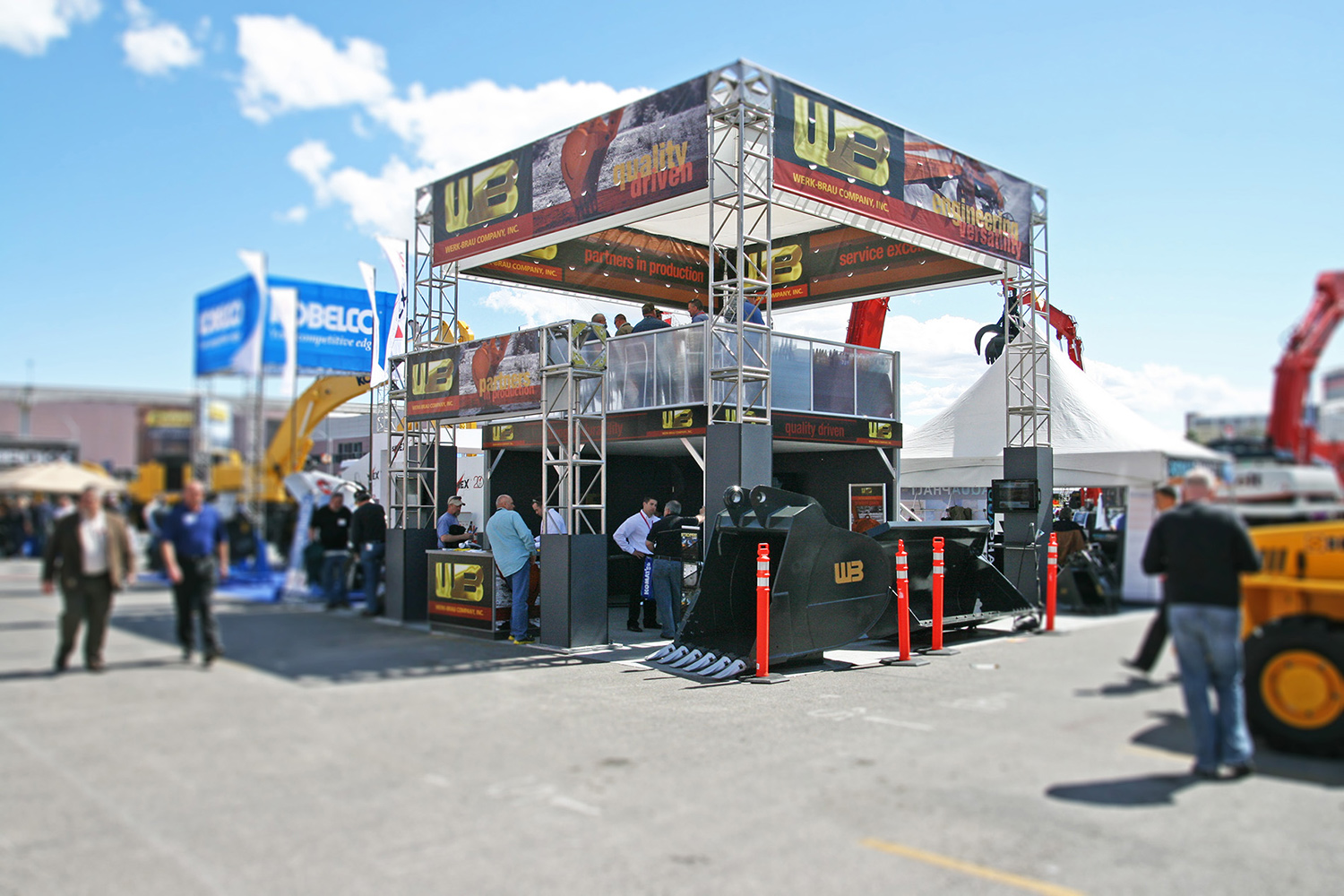 Double Decker Booth