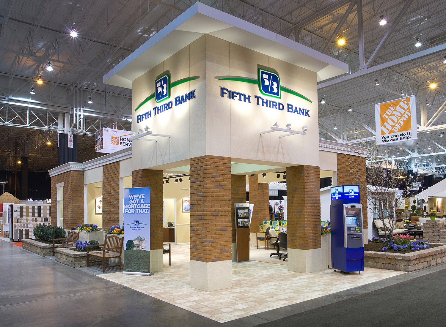 Home and Garden Show Pop-Up Branch
