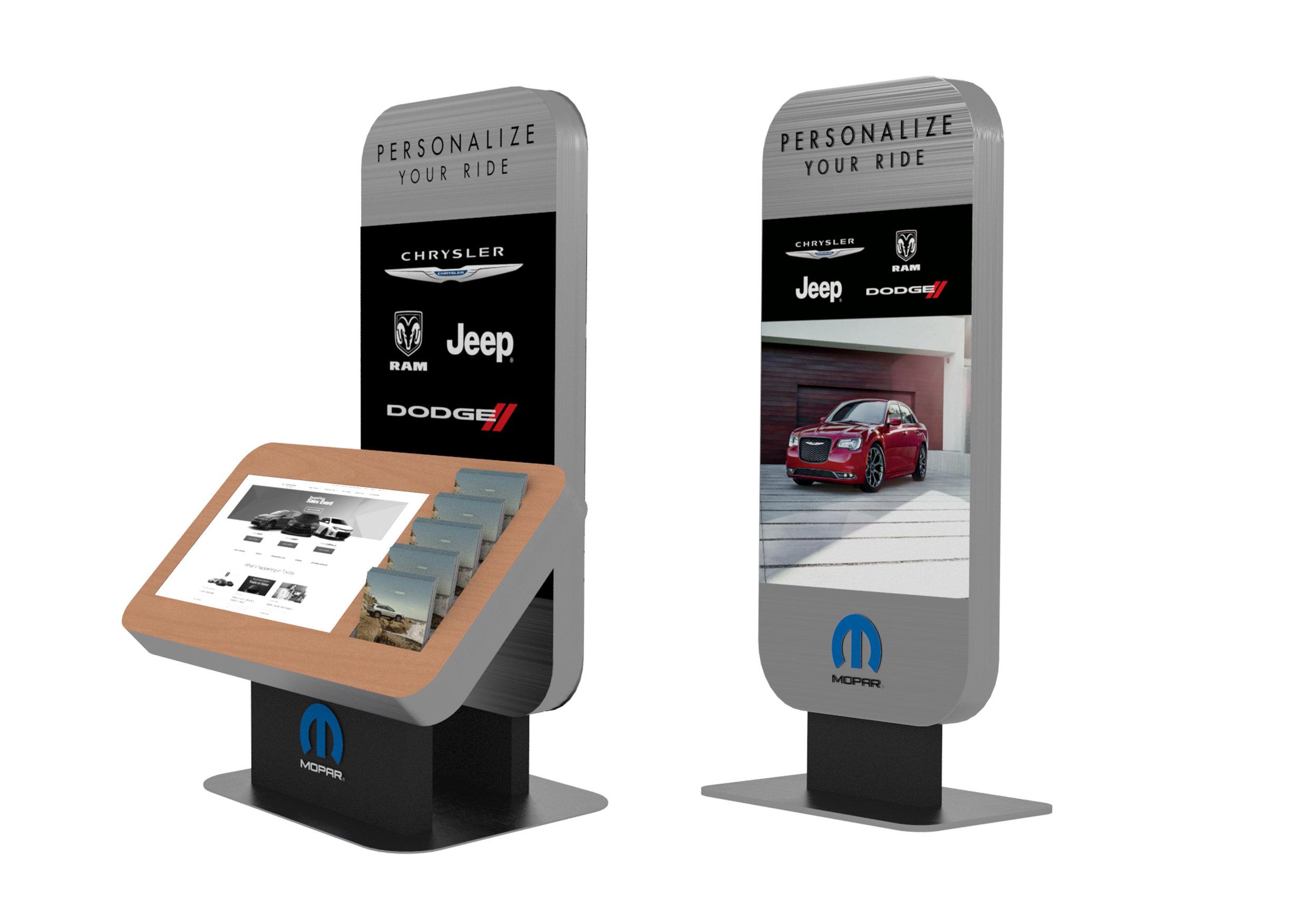 Vehicle Accessory Kiosk