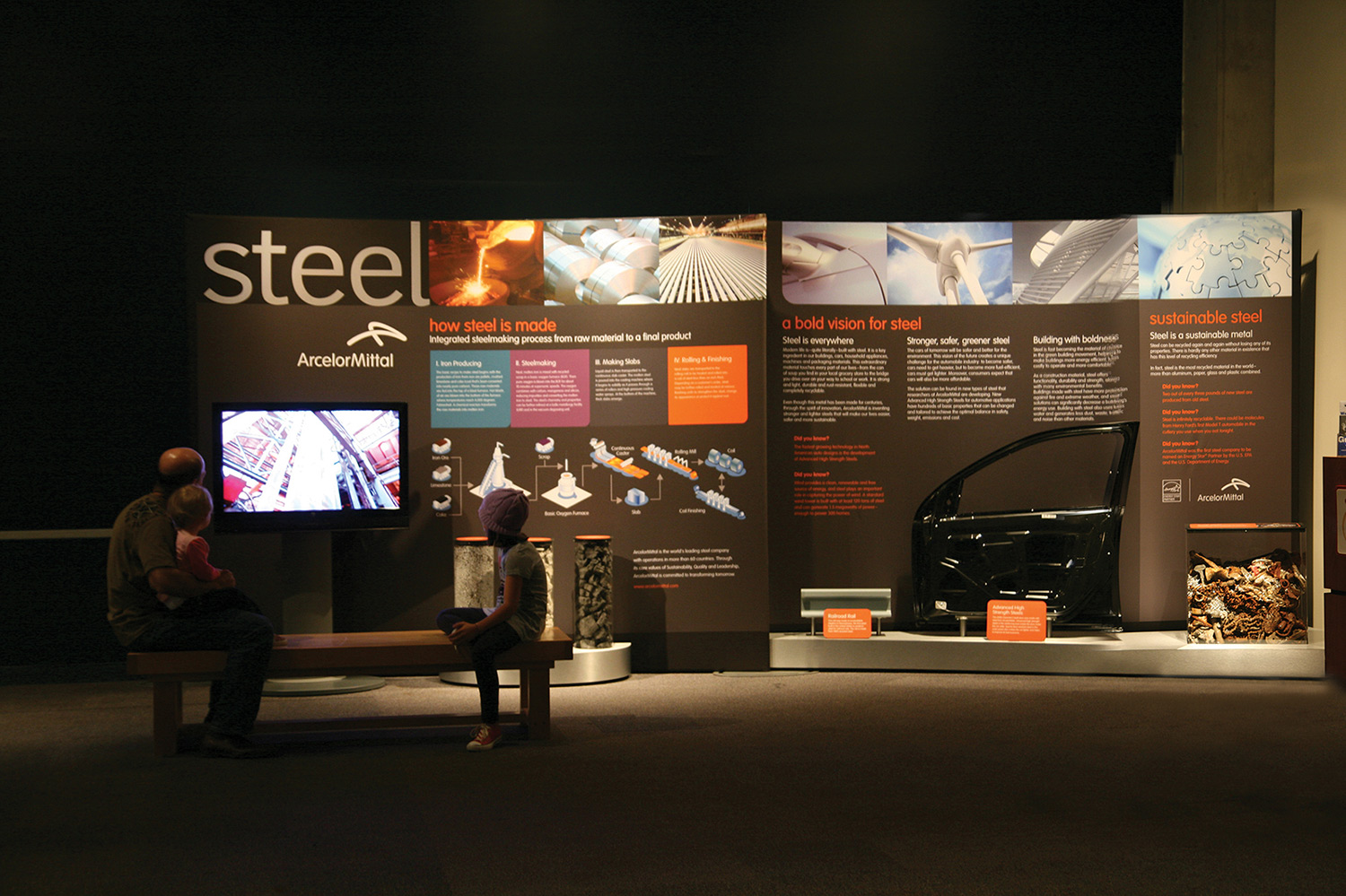 Life of Steel Exhibit