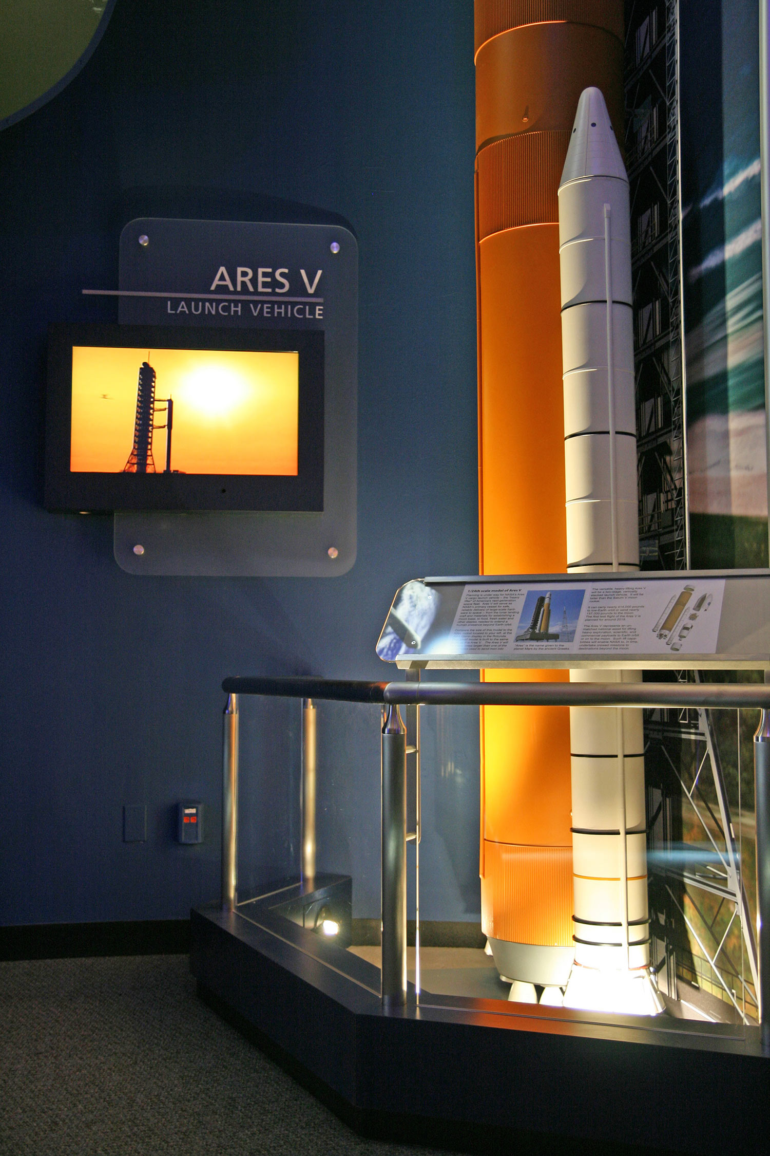 Ares Rocket Exhibit