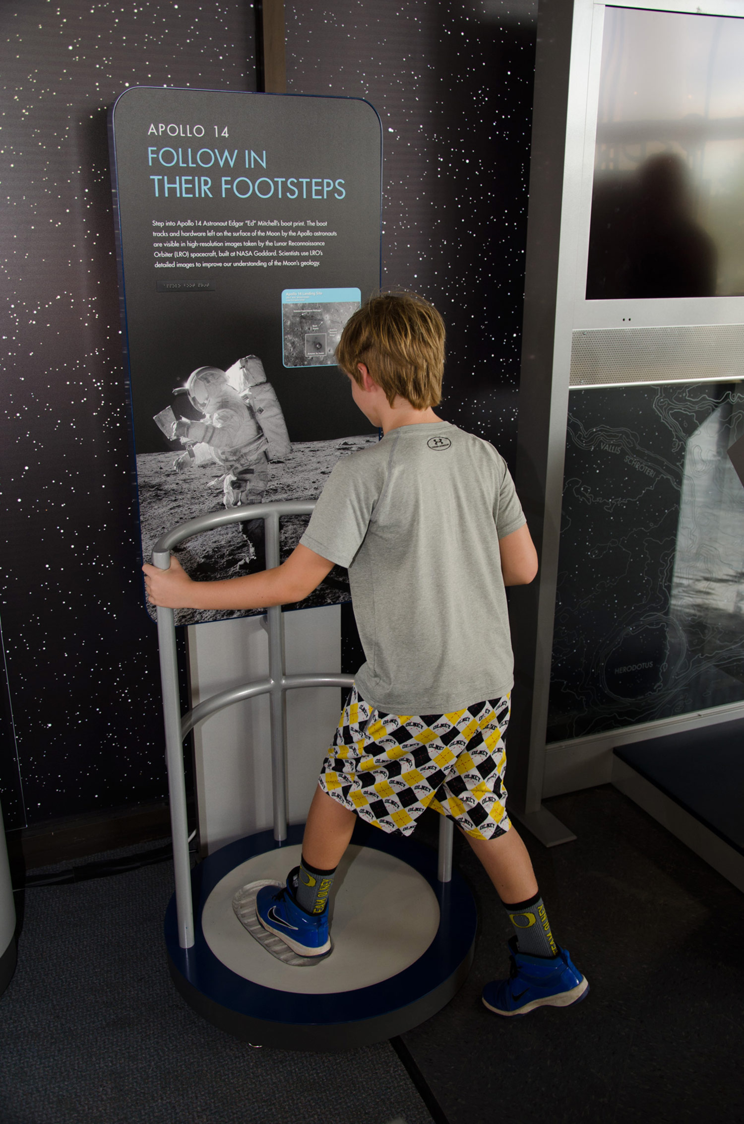 Moon Boot Print Exhibit