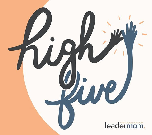 Making your priorities clear? High five! Pro at delegating? High five! Learning to apologize less and advocate for yourself more? That gets double up top! Here's to all the fierce LeaderMoms out there who bring it at work and at home. And while it's critical to spread the love everyday, make sure you take advantage of National High Five Day and recognize the LeaderMoms you know. What's something they do to keep the engagement high in both their professional and personal lives? Be sure to tell us in the comments below! 🗣 . #nationalhighfiveday #nh5d #hardwonwisdom #leadermom #webinar #goodvibes #highfivesgoodvibes #positivevibes #communityovercompetition #leadership #workingmoms #workmombalance #momlifebalance #honestmotherhood #momleader #momboss