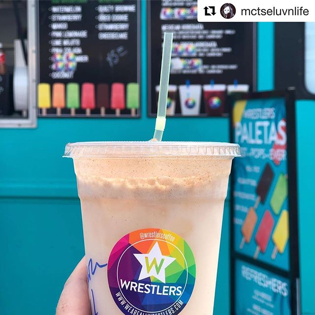 @mctseluvnlife ・・・ Horchata. Refreshment in a Cup. ... ... ... ... @wrestlers_to #WoodbineFoodTruckFestival #BestTreat #Refreshing #SummerTreat #MommyAndMeTime