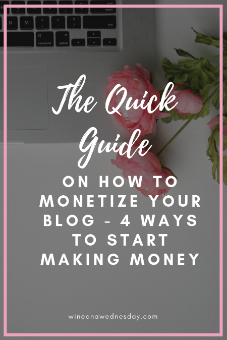 the quick guide on how to monetize your blog