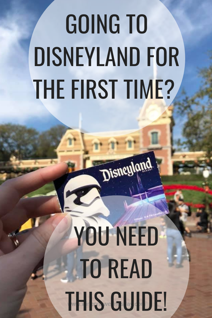 tips for visiting disneyland for the first time