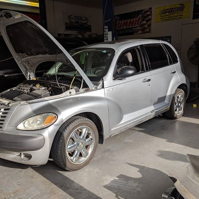 You may have seen a while back we hinted at this PT cruiser...well the time has time to get the knife out. Love it or hate it, it's going to be the baddest PT cruiser ever. Cutting the floor out and putting it on a custom full frame chassis, crate hemi swap, 9in rear end, custom body modifications, etc...it's going to be wild! 🔥👊💥 . . . #american_gasser #americanmuscle #gasser #customcars #fabrication #hotrod #hotrods #classiccars #musclecars #racecar #classicsdaily #streetcar #custom #projectcar #streetmachine #musclekings #gearhead #smallblock #bigblock #hotrodsandmusclecars #gassernationusa #hotrodanything #fullcustom #hemiswap #customchassis  #ptcruiser #thewayitshouldhavebeen