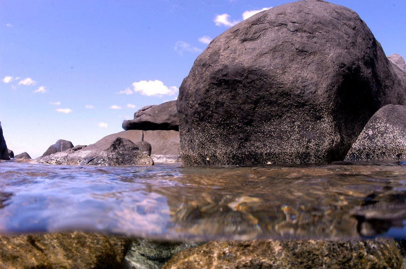 Virgin Gorda's most famous landmark, The Baths.