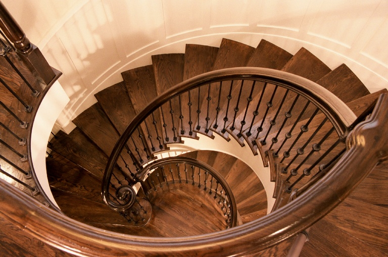 J2 Construct High End Home Construction Spiral Staircase.JPG