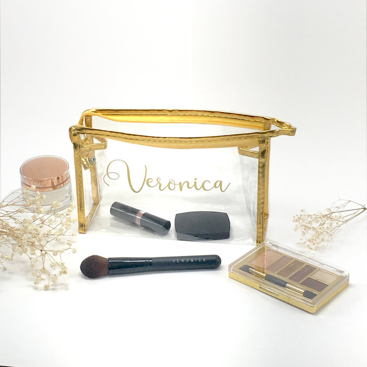 Personalized Make Up Bags Make Awesome Bridesmaid Proposal Gifts!