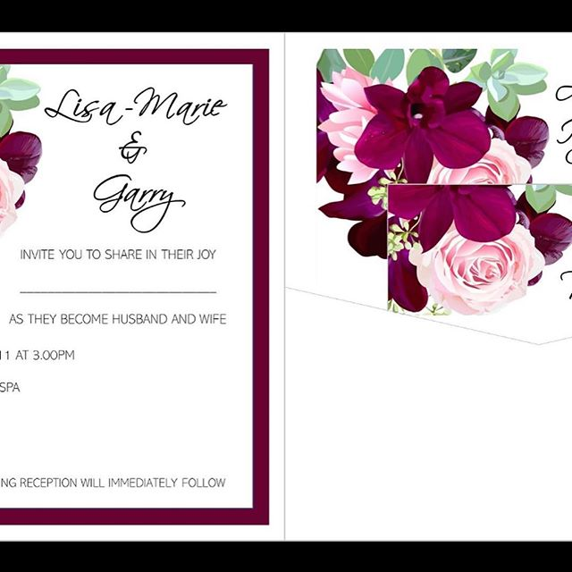 My favourite invitation right now! Beautiful colours! Perfect for all year round weddings! #weddinginvitations #weddinginvites #invitations #invites #pocketfoldinvitations #bookfoldinvitations #burgundy #pink #floraldesihns #weddingstationery