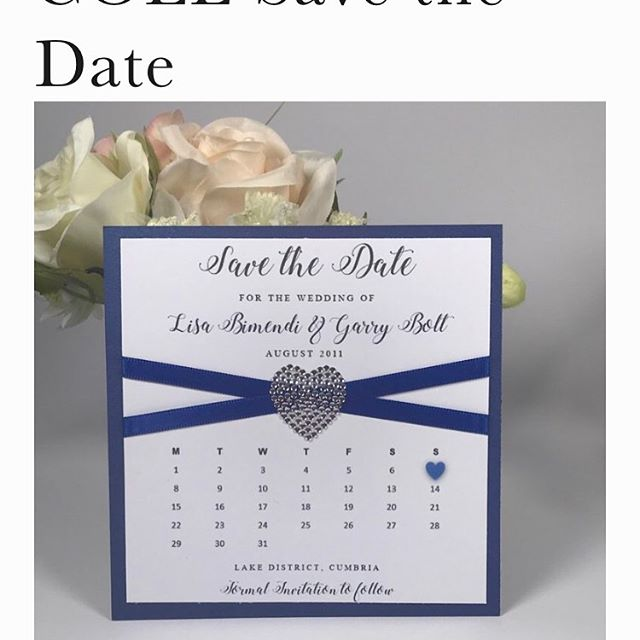 NOW ONLY £1.00 EACH  Visit www.sapphirestationery.org/save-the-dates/Cole-save-the-date to get yours!! Offer valid until Sunday 21st July 2019. @#savethedate #savethedates #weddings #invitations #weddingsavethedate #weddingsavethedates #weddingsavethedatecards #sapphirestationery