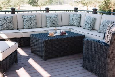 Best outdoor furniture California.
