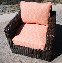 Grade D cushions outdoor furniture.