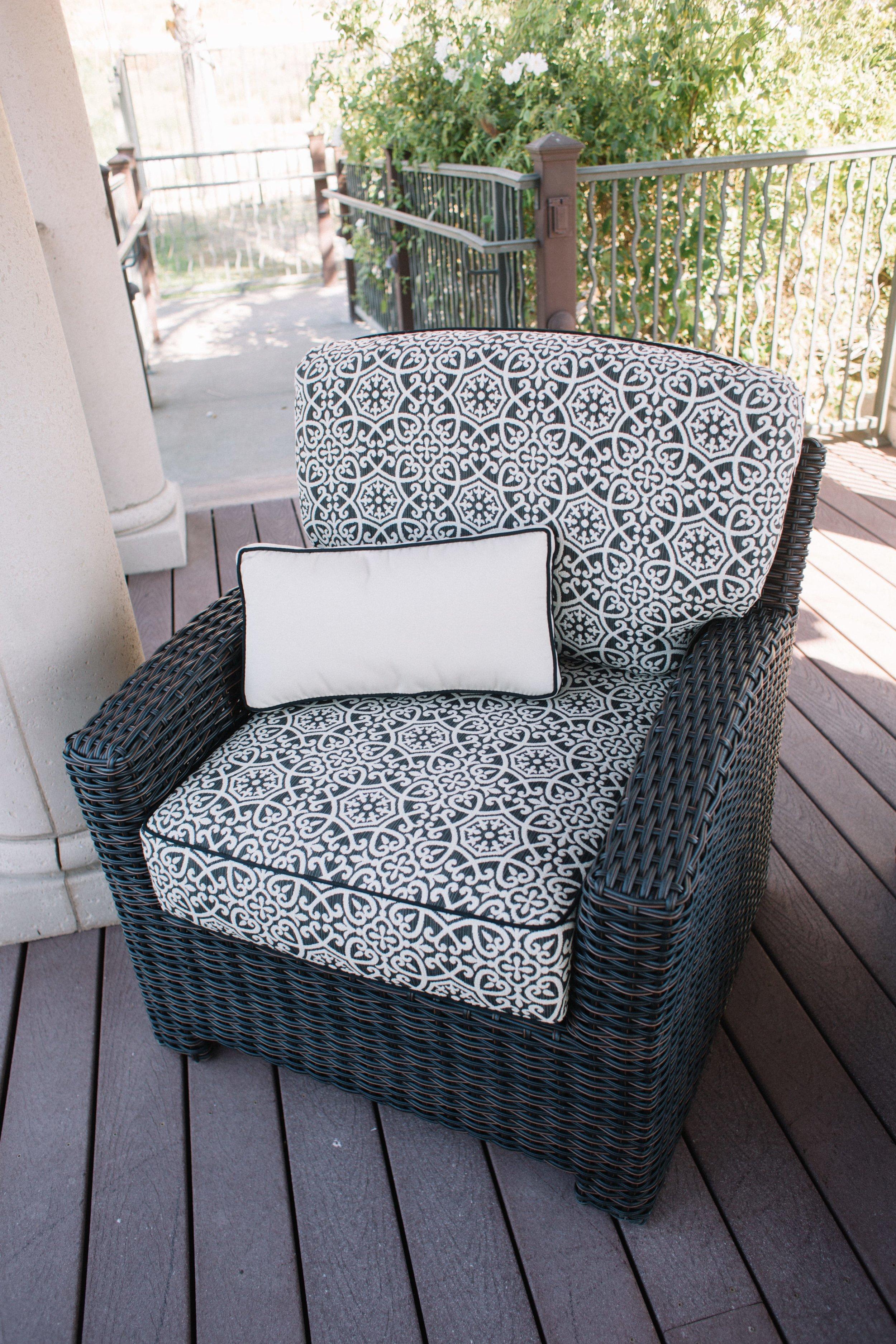 St. Martha Club Chair