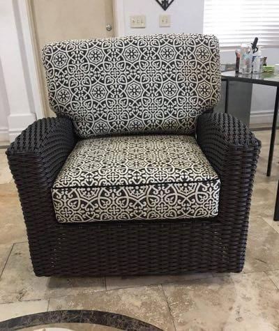 St. Martha Swivel Club Chair