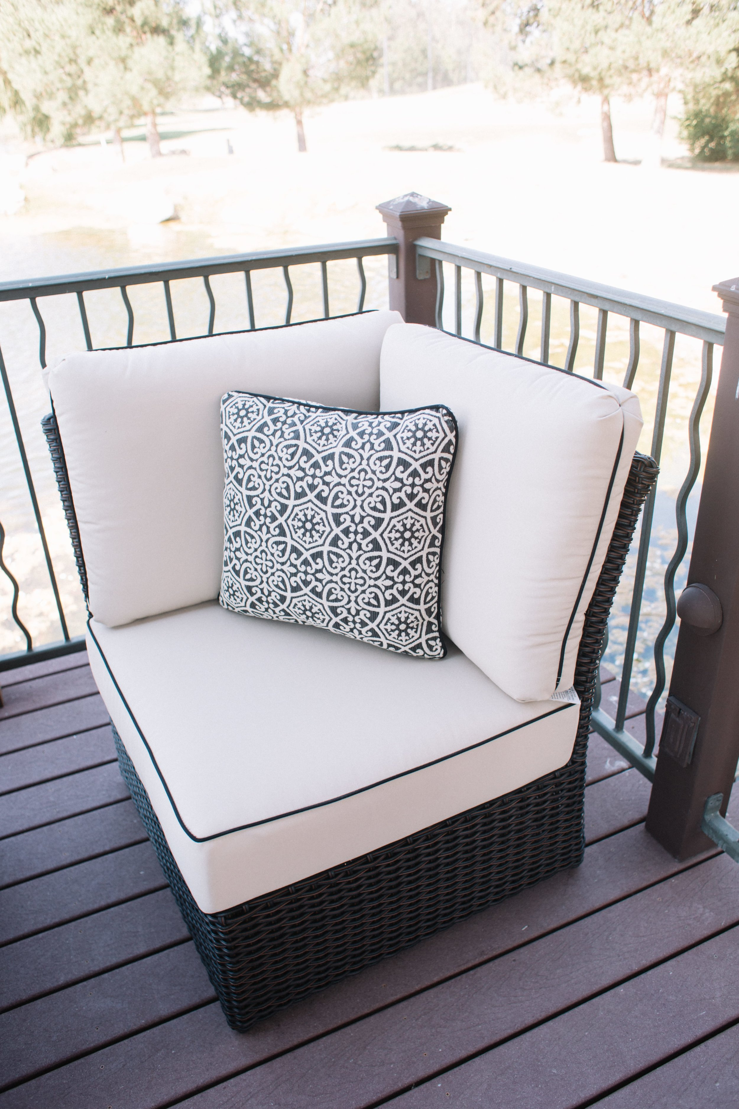 St. Martha Modular Corner Chair