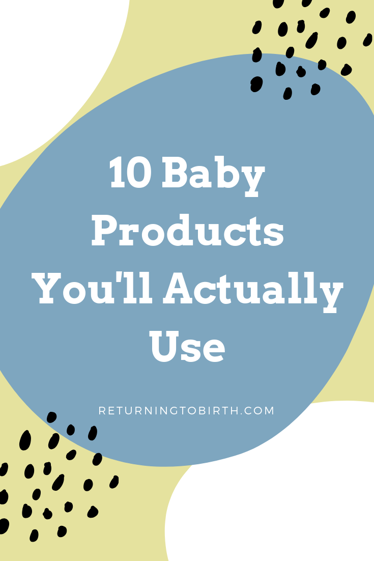 There's nothing worse than spending money on baby gear you never use. These are my all time favorite baby products I can't live without. #babygear #babyregistry #newmom #babyproducts