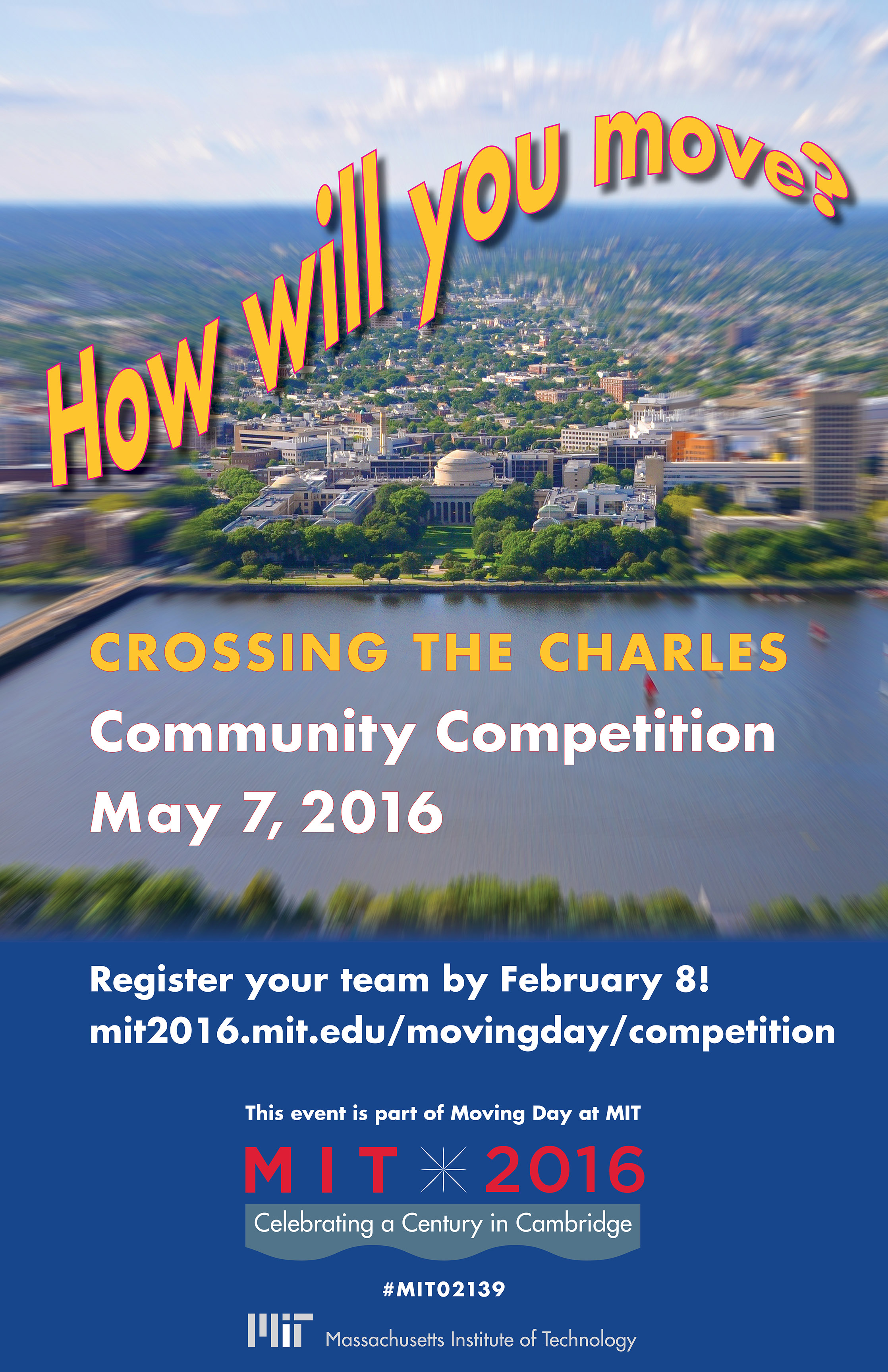 Call for entries for Crossing the Charles competition