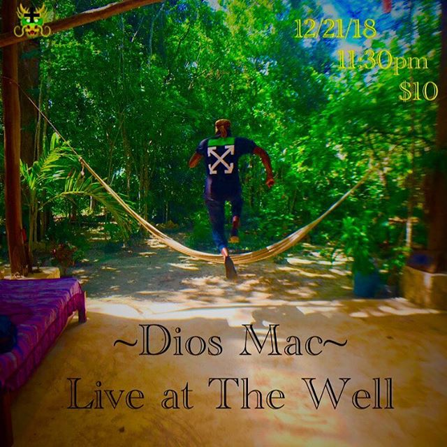 December 21st, 2018 11:30pm  Come see me performing live at The Well in Brooklyn.  I am back from my journey and I want to share my sound.  Don't miss this. 💗 _______________________________________________________ #diosmac #macstowe #thewell #nyc #music #love #peace #unity