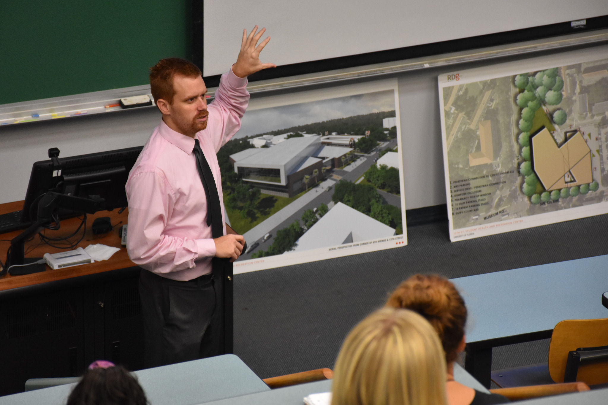 Guest Speaker   Marty Dempsey , Assistant Director, Facility Ops   UF RecSports     October 8, 2018 ( Pictures )