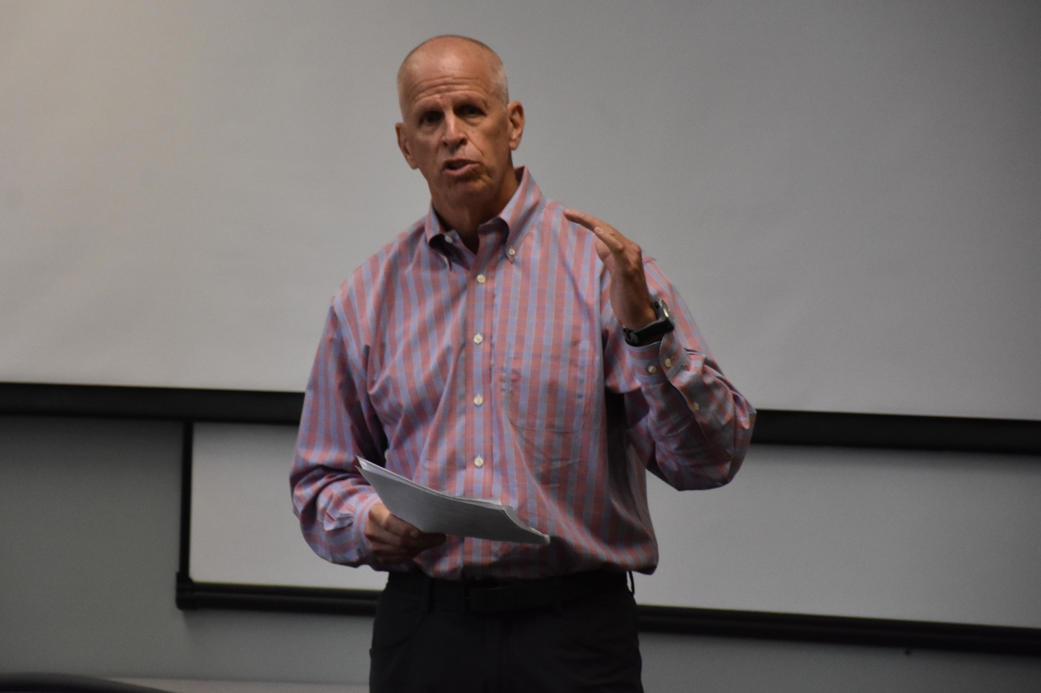 Guest Speaker   Jeremy Foley , AD Emeritus   University Athletic Association     November 8, 2018 ( Pictures )