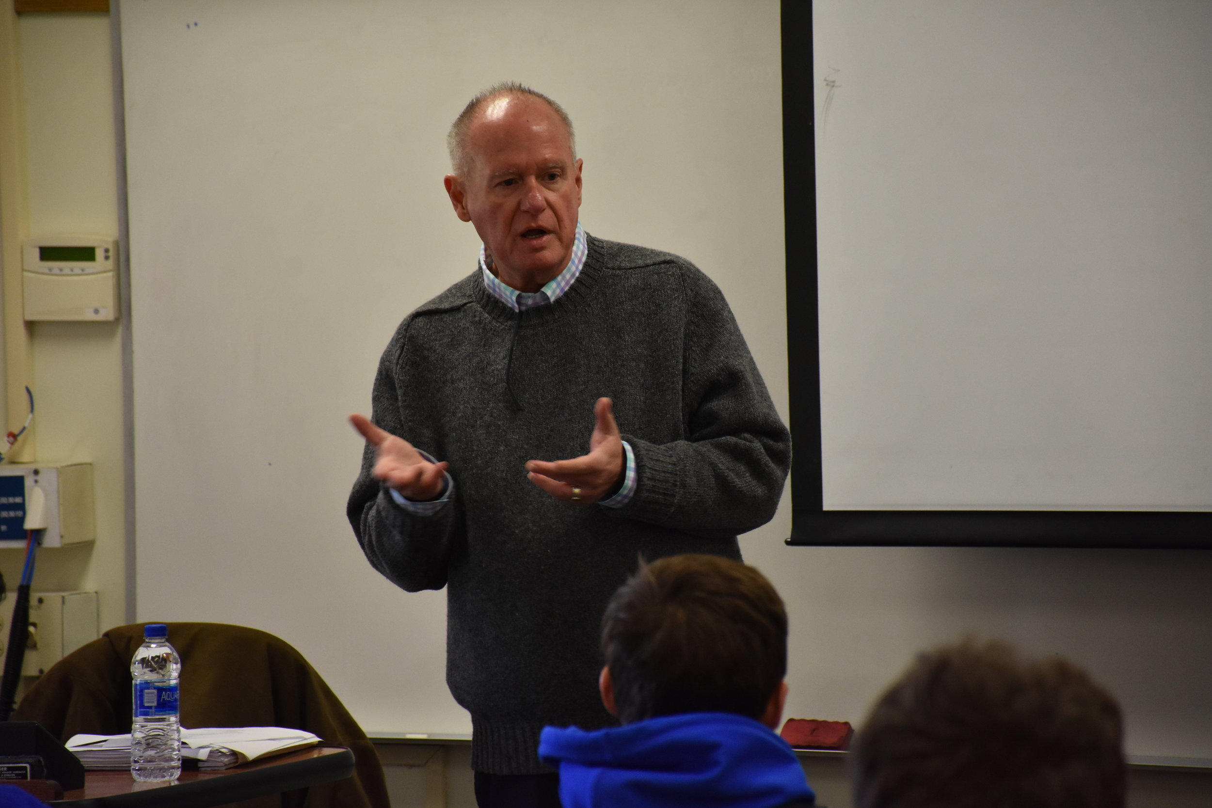 Guest Speaker   Lee Douglas , GM   Gator IMG Sports Marketing   January 30, 2019 ( Pictures )