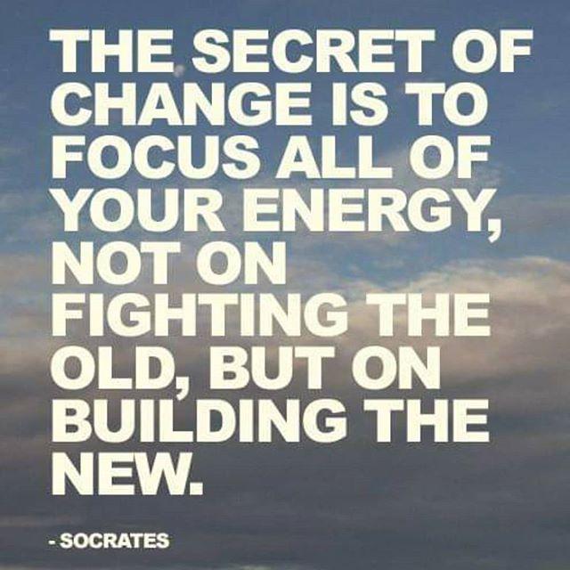 Focus on building new #plasticfree #lowimpact habits.