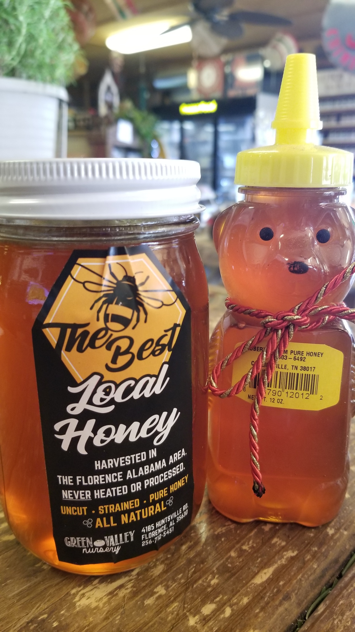 Local Honey - $10 and $7