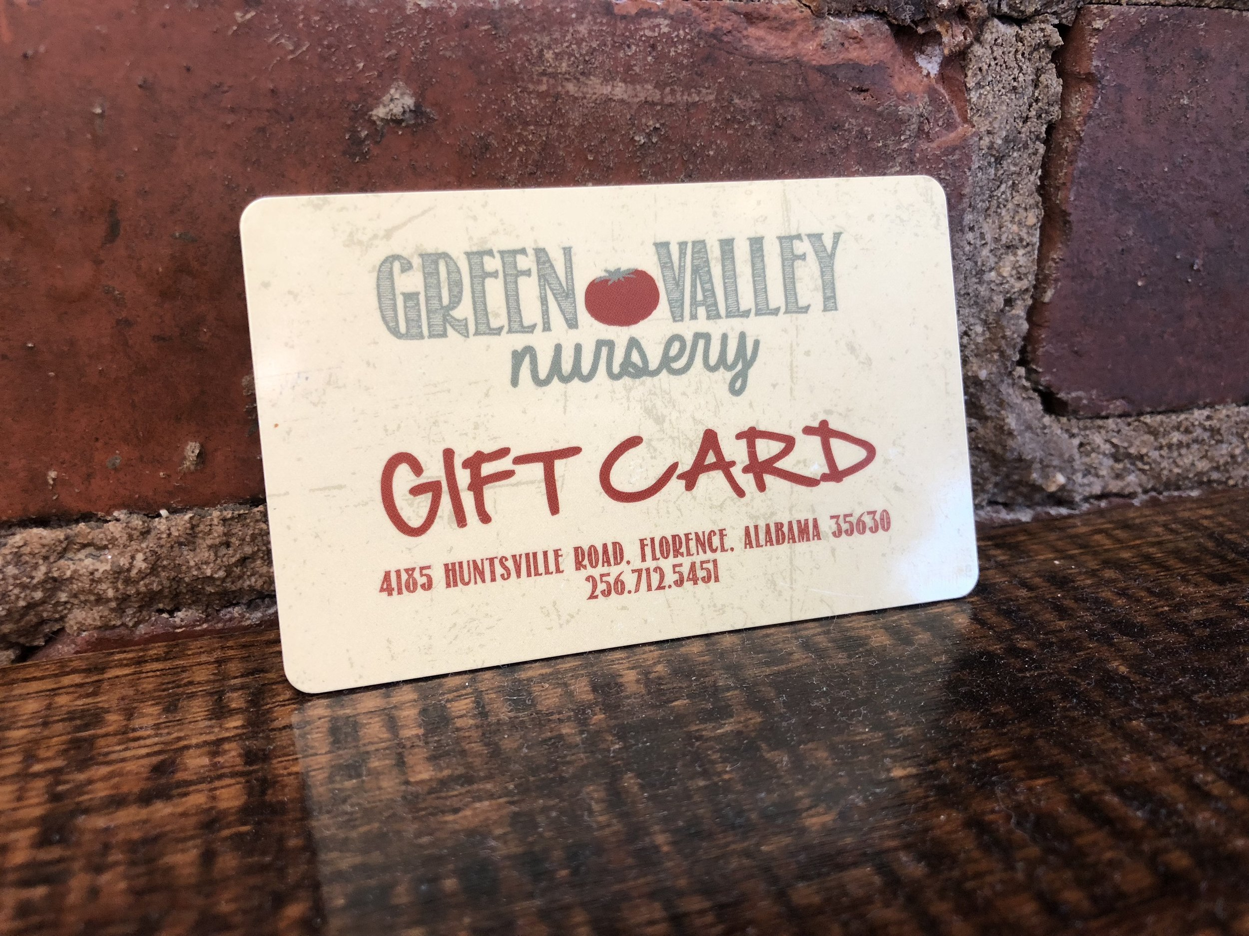 Gift Cards - Any Value