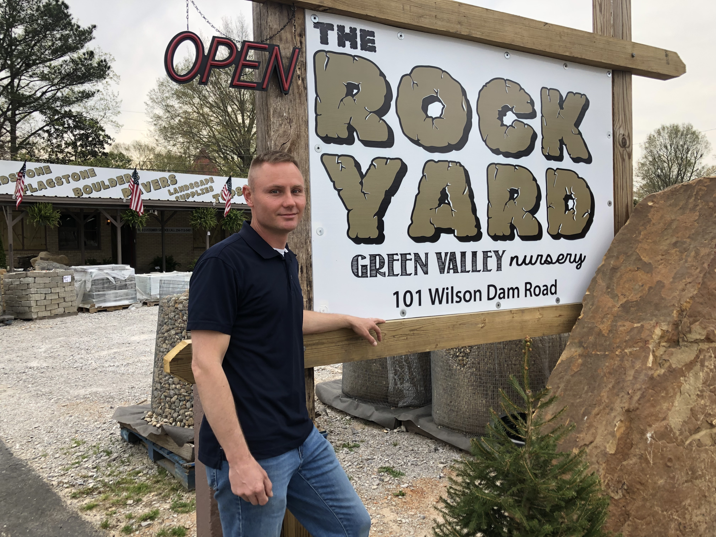 Introducing The Rock Yard's manager, Jeremy White.