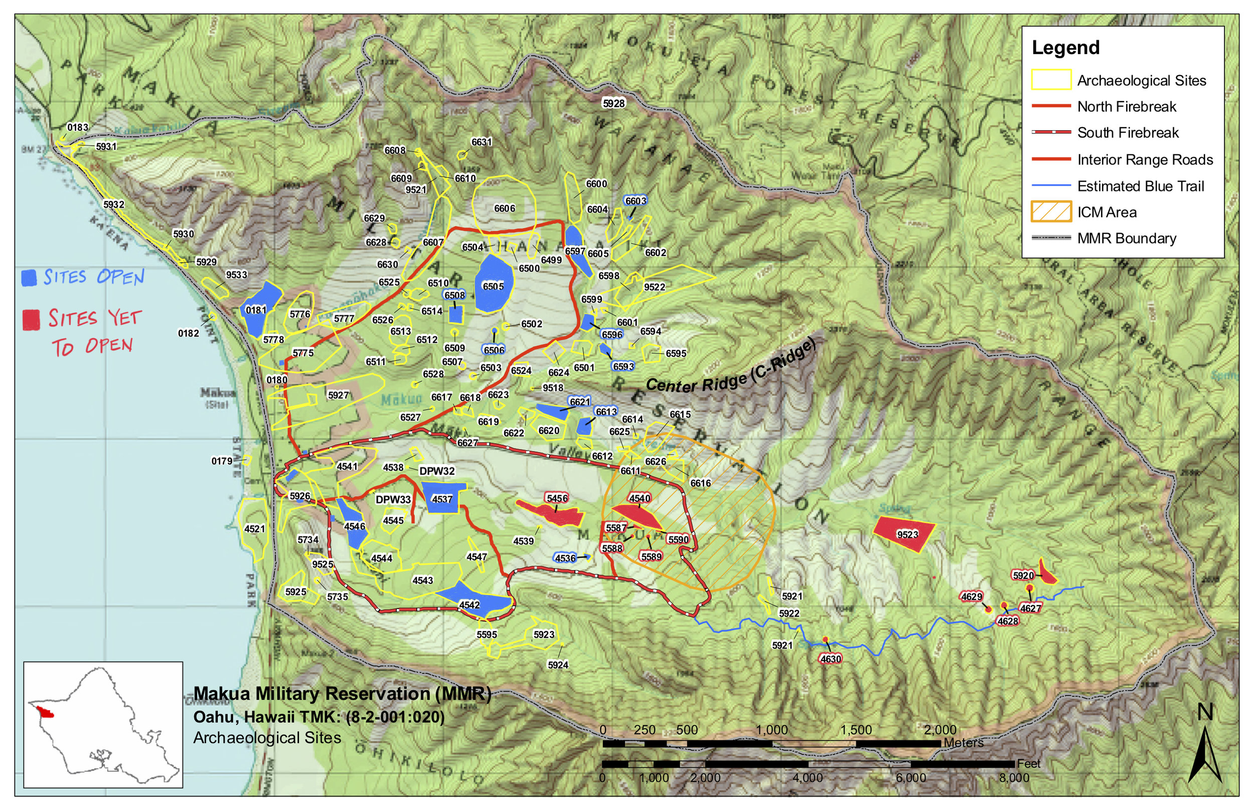 Mākua map sites opened - yet to open UPDATED.jpg