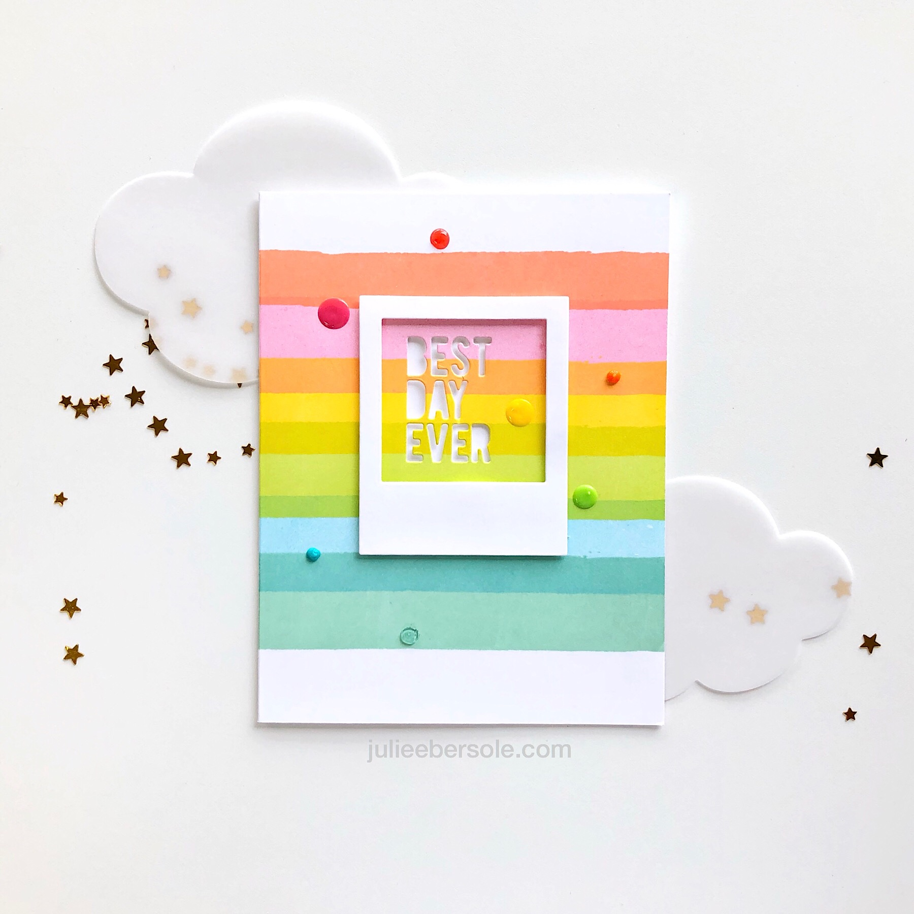 FEATURING:  Painted Stripes  and  Instant Photo Frames