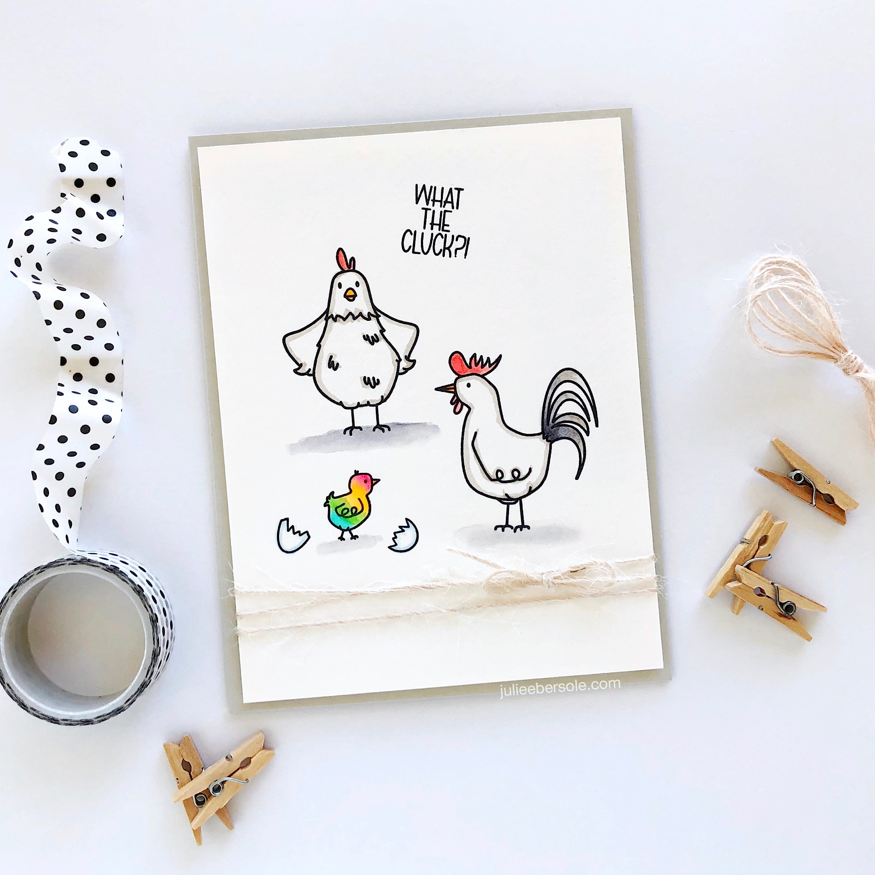 Feat.  Good Egg By Brandi Kincaid, Essentials By Ellen Clear Stamps