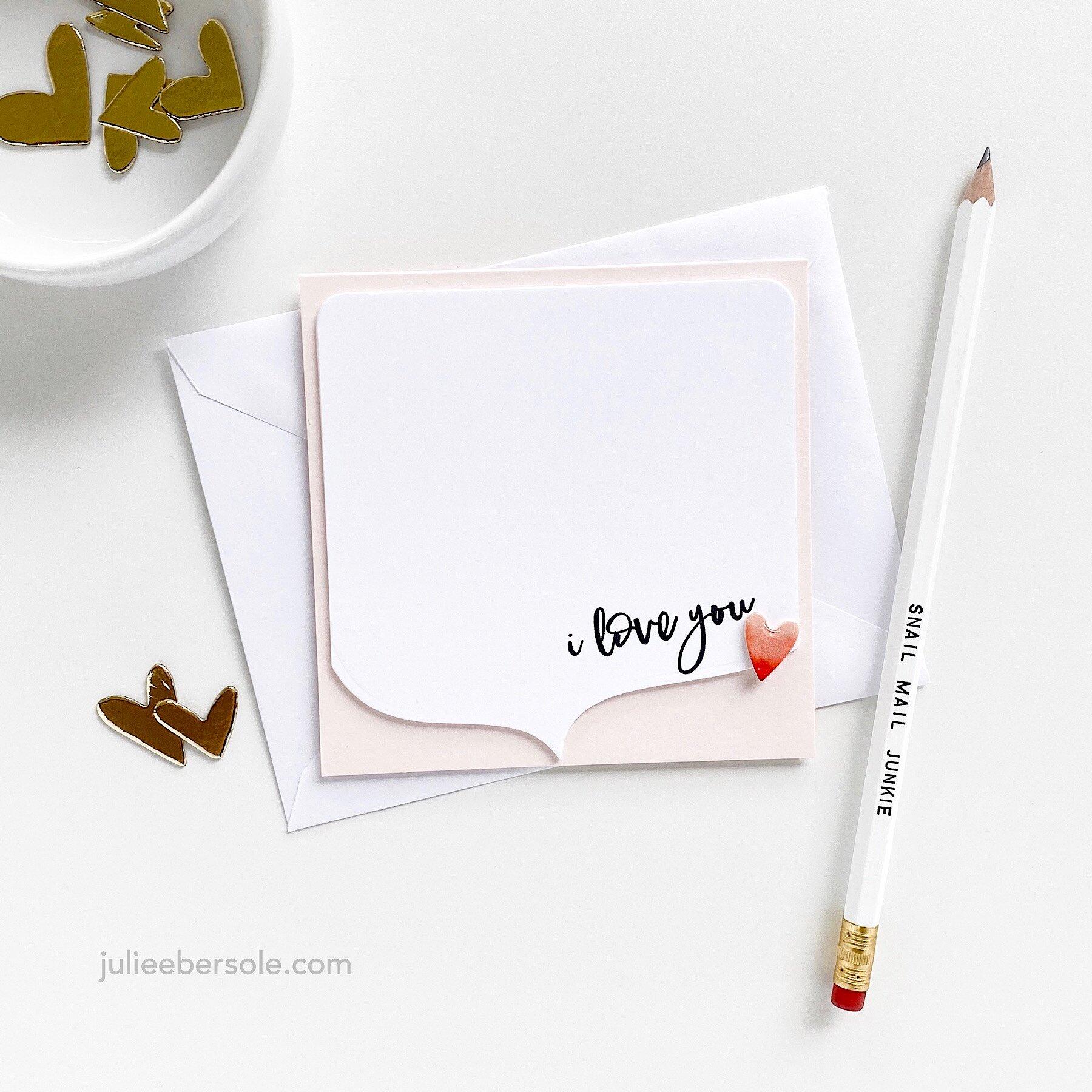 Feat.  Totally Random Sayings Volume 3 Stamp Set by Julie Ebersole  | Speech Bubbles by Julie Ebersole, Essentials By Ellen Designer Dies