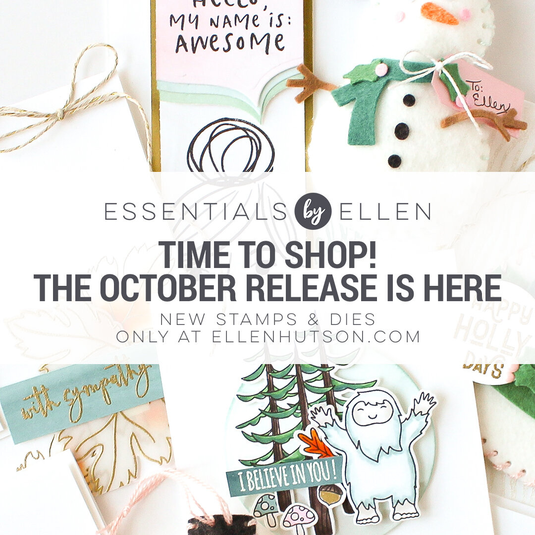 To see the whole release and oodles of inspo, click on the link →  Essentials by Ellen October 2019 Release