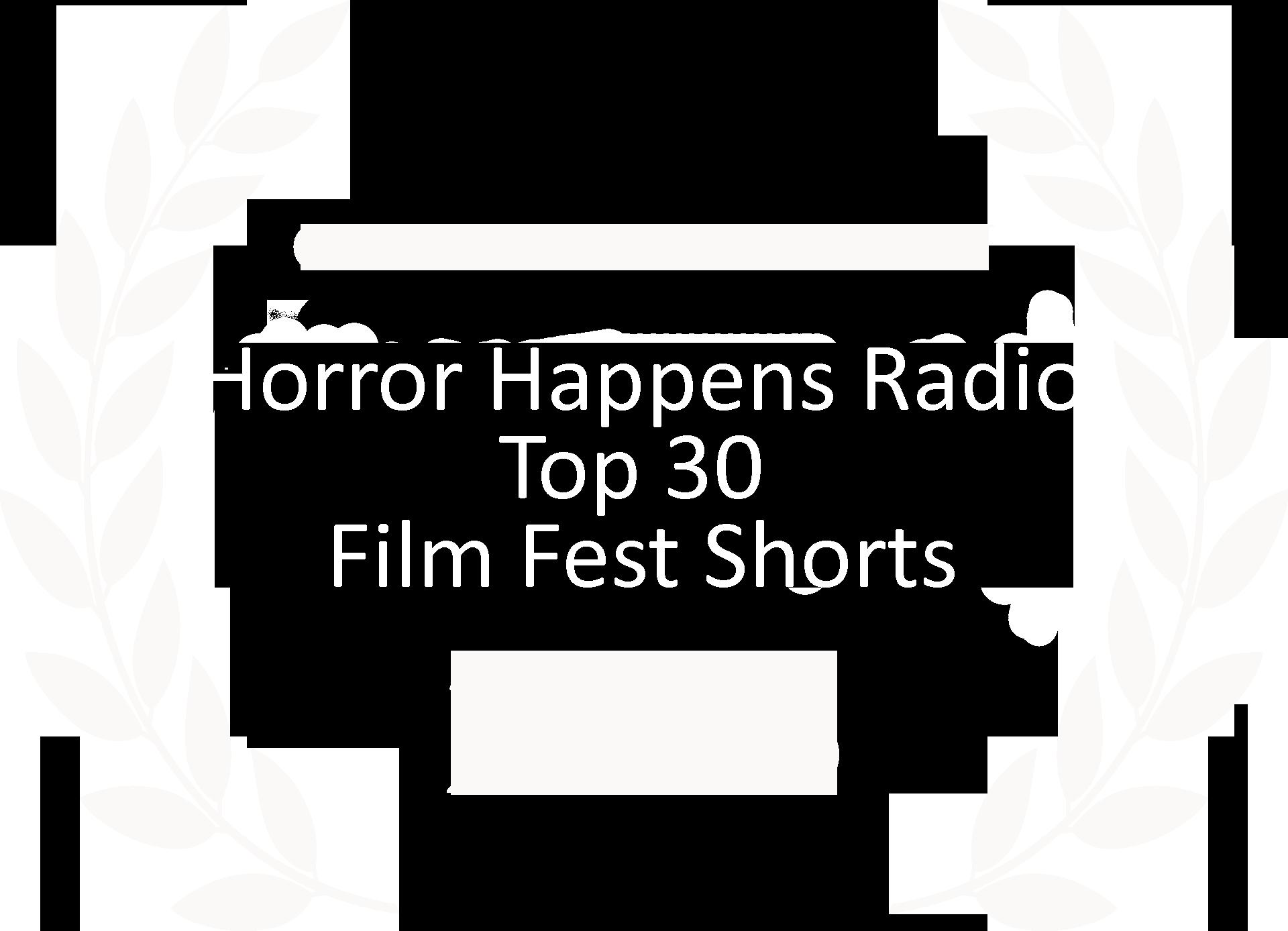Horror Happens Radio top 30 FF shorts mock 2018.png