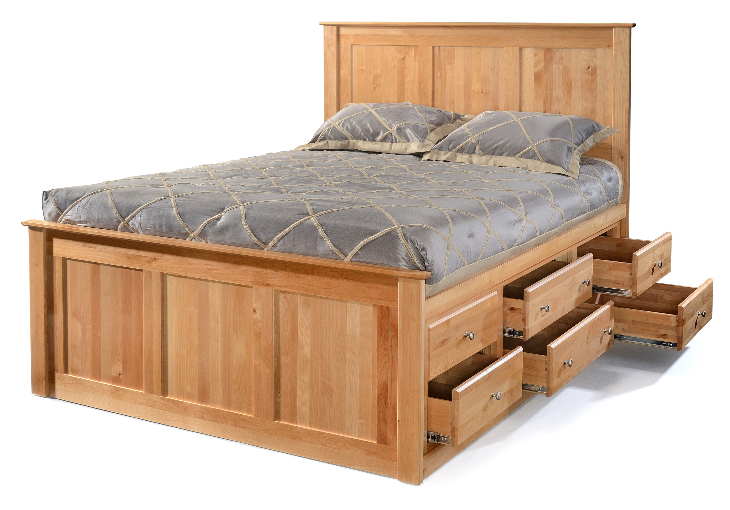 Alder Beds - Archbold - Tall storage bed 6 drawers - Finished.jpg