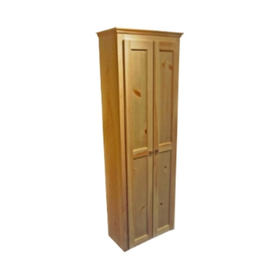 Bookcase with doors - Pantry - Berkshire - Classic Tall Cabinet Mid Depth - Finished.jpg