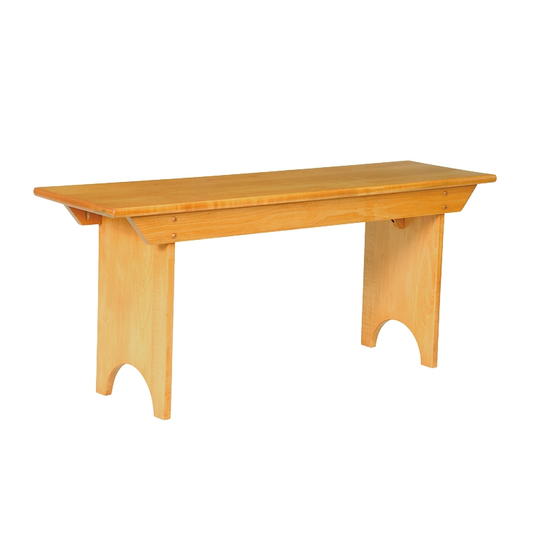 Penns Creek Shaker Bench    Starting at: $499.99