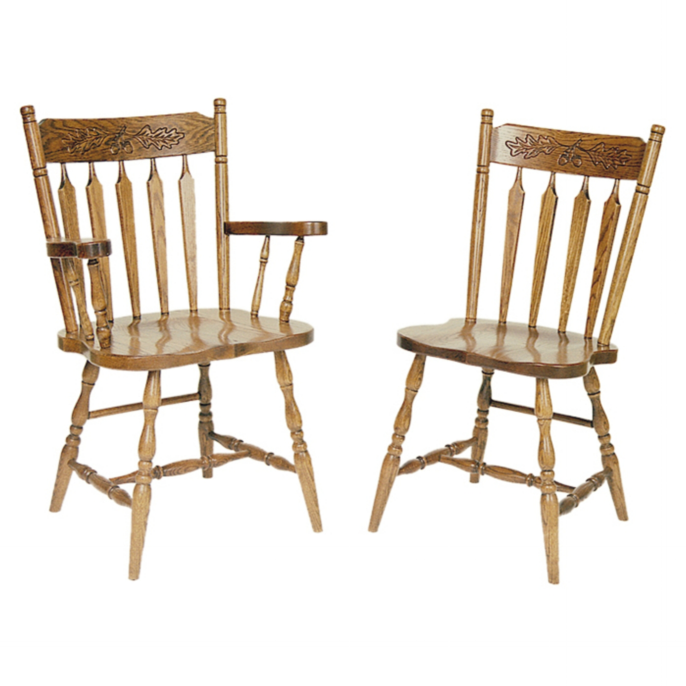 Penns Creek Acorn Colonial Arrow-Back Chairs    Starting at: $324.99