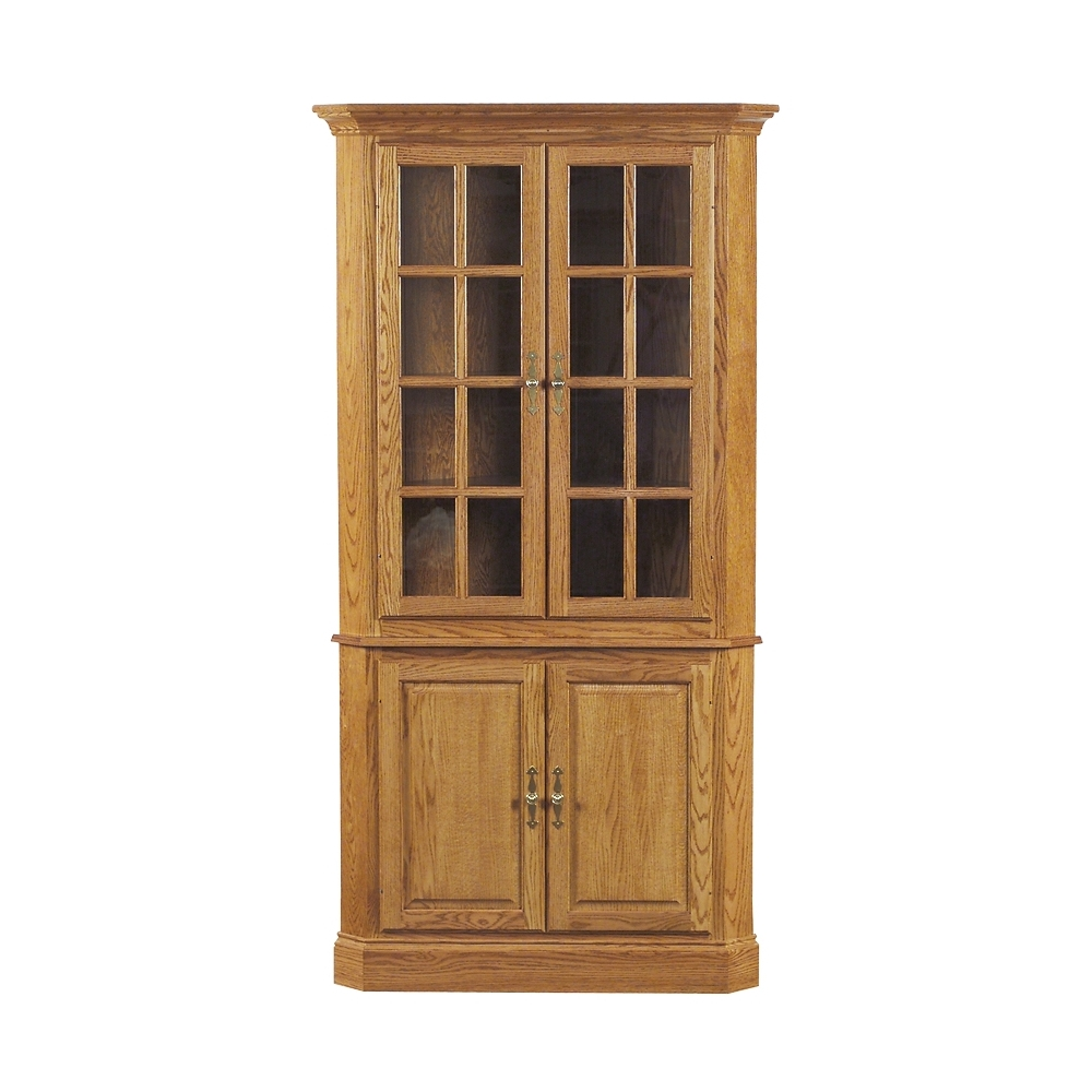 Penns Creek Colonial Corner China Cabinet    Starting at: $4,929.99