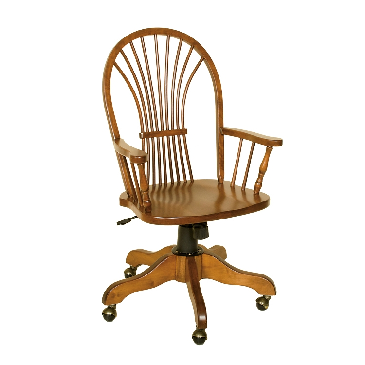 Penns Creek Wheat-Back Arm Desk Chair    Starting at: $