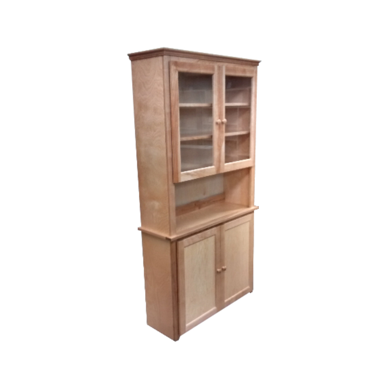 China Cabinet - Berkshire - China Hutch - Finished.jpg