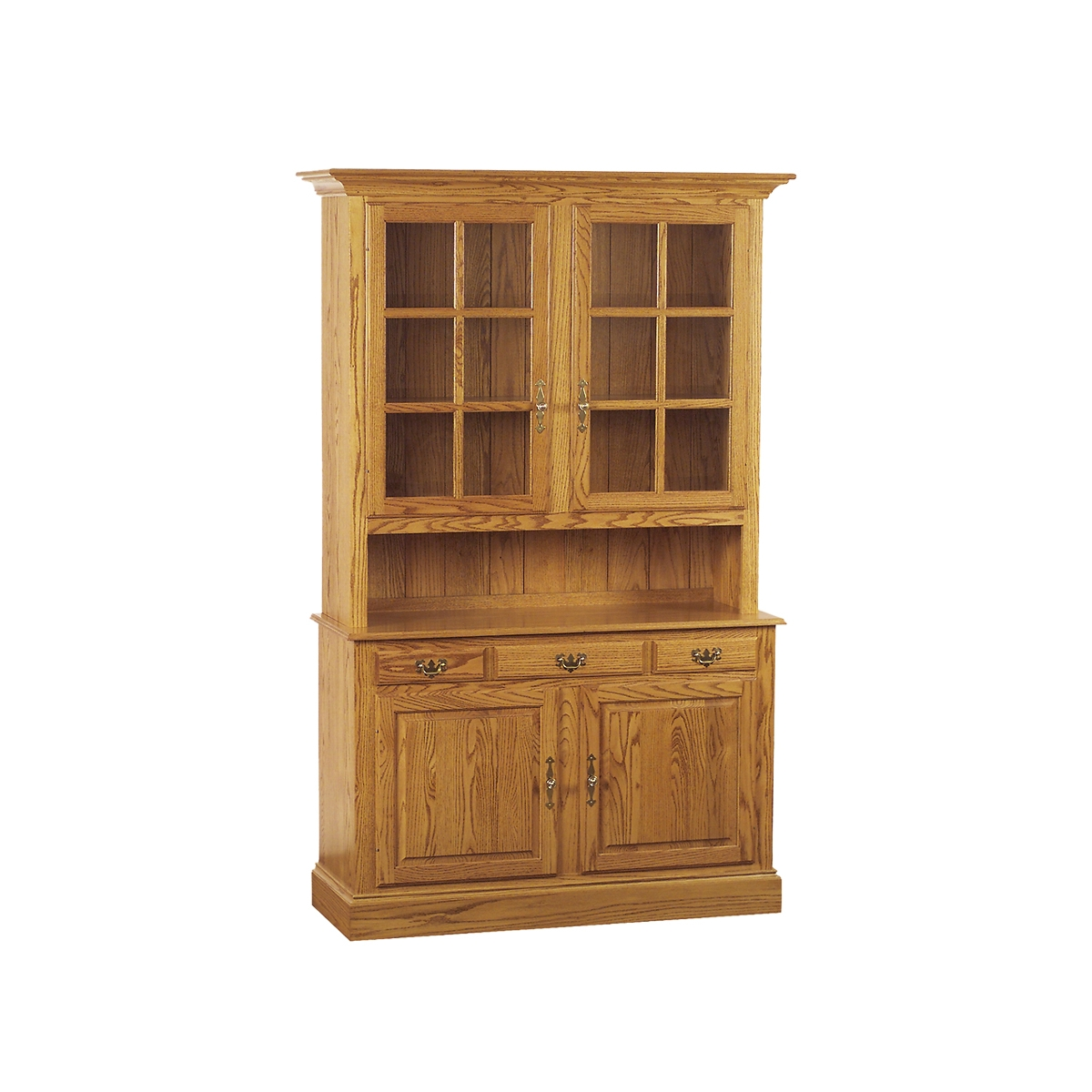 china hutch - penns creek - 54w colonial china hutch - cupboard and sideboard - finished.jpg